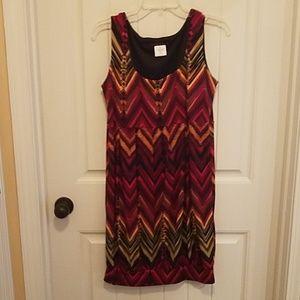 Tiana B. / Sleeveless Midi Dress Size Medium